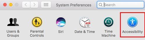 System Preference