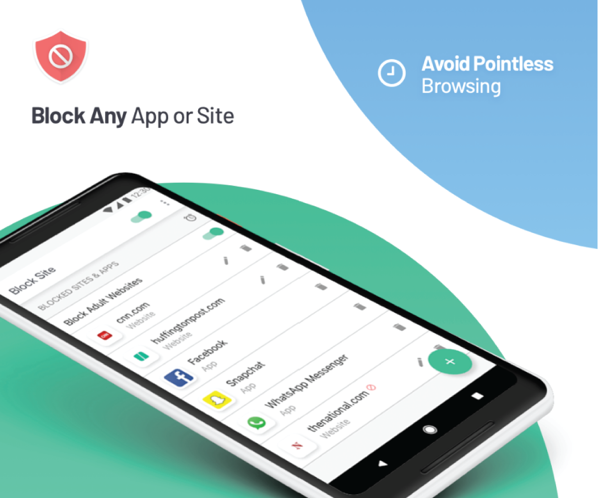 android feature to block websites with Block Site