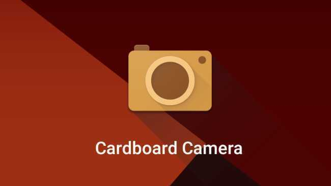 Cardboard Camera 360° image