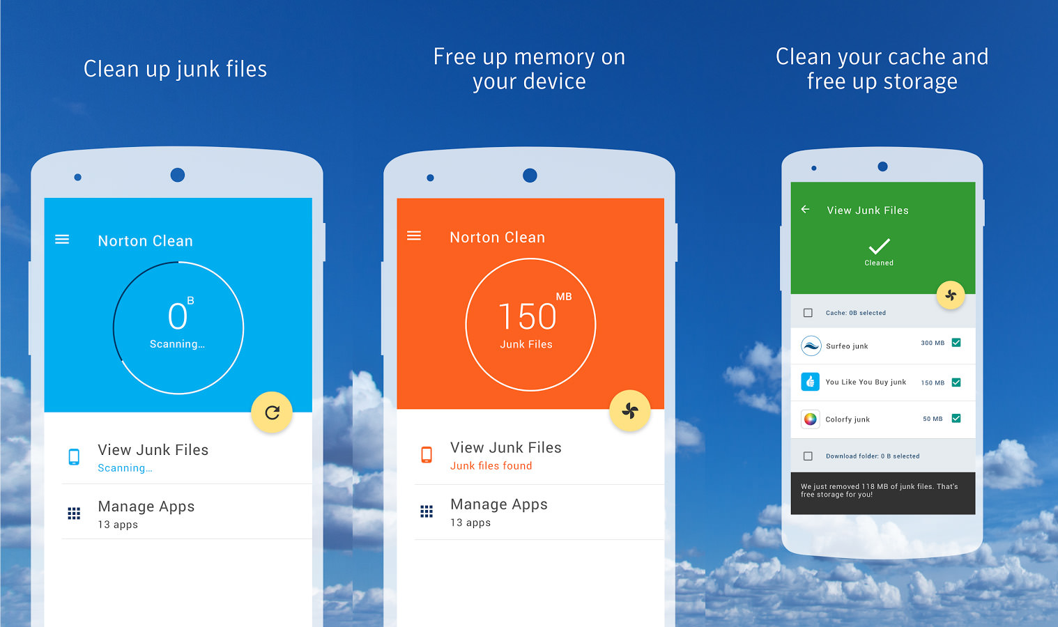 Clear up your home screen from Android smartphone