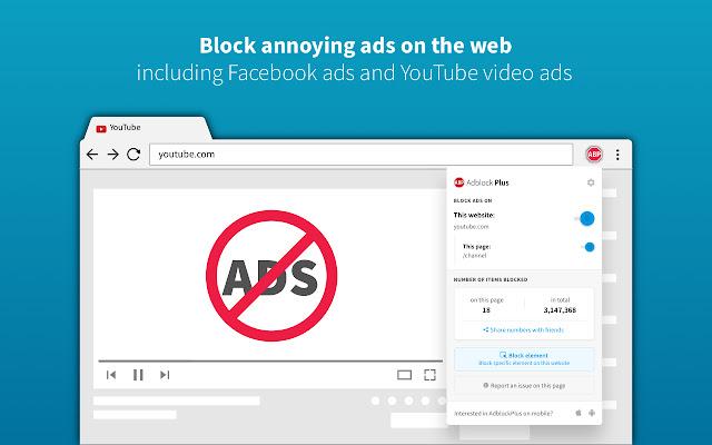 Chrome Extension Ad Block Plus