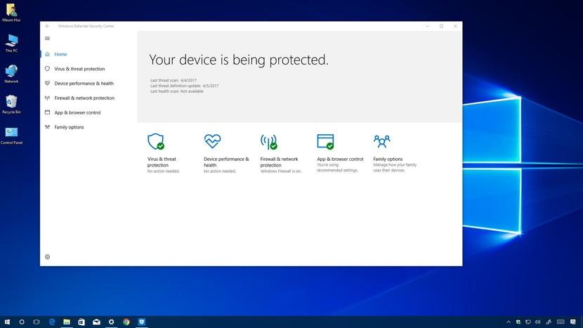 Windows Defender Work