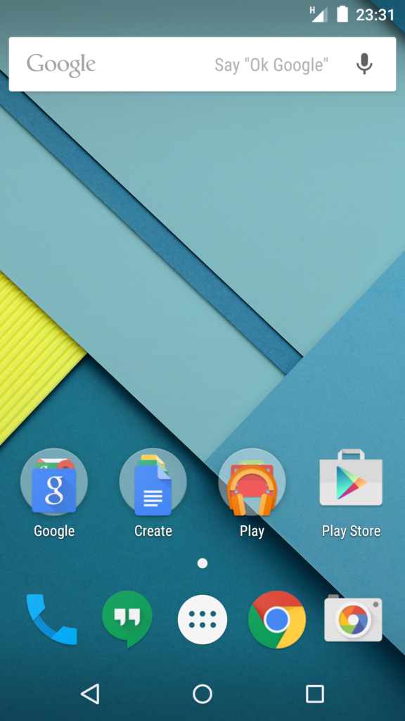 Android-Version 5.0
