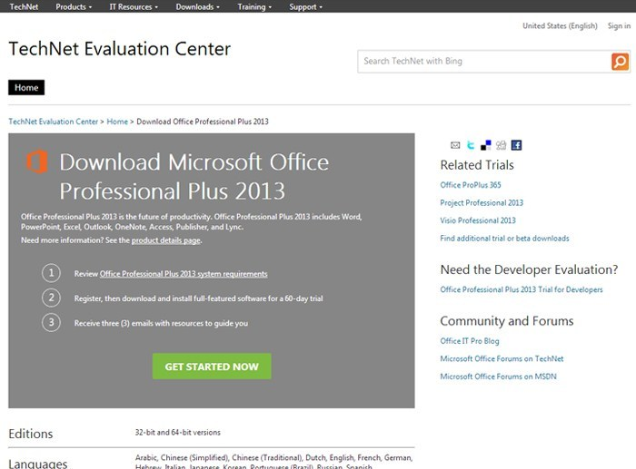Tech Net Software Evaluation