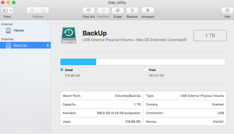 how to format mac drive