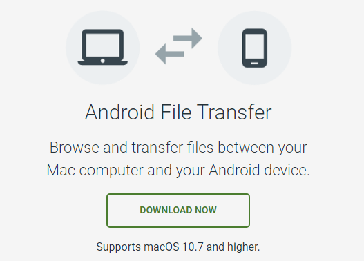 how to Transfer Android Files to Mac